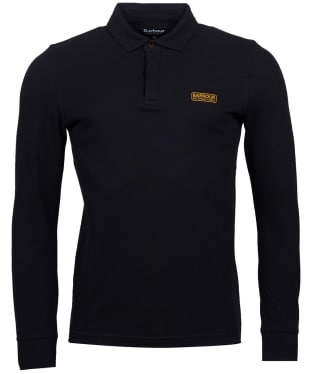 Men's Barbour International Antrim Long Sleeve Polo Shirt