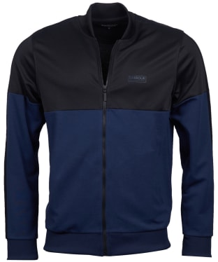 Men's Barbour International Zip Thru Track Top - Indigo