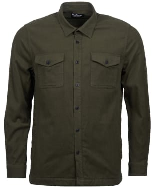 Men's Barbour International Skipton Overshirt - Sports Olive