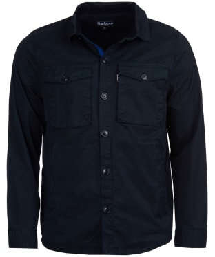 Men's Barbour Hali Overshirt - Navy
