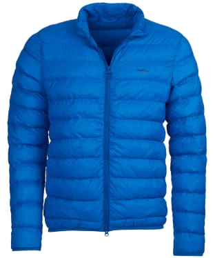 Men's Barbour Penton Quilted Jacket - Electric Blue