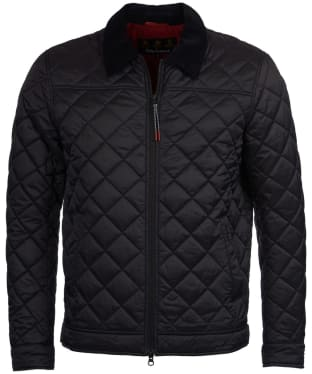 Men's Barbour Trough Quilted Jacket - Black