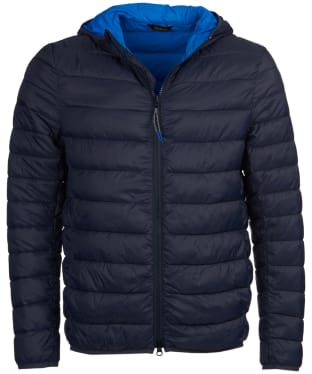 Men's Barbour Trawl Quilted Jacket - Navy
