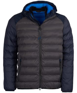 Men's Barbour Jib Quilted Jacket - Charcoal