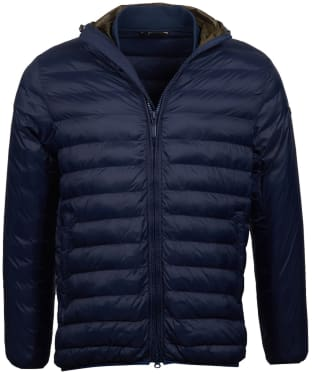 Men's Barbour International Asphalt Quilted Jacket - Navy