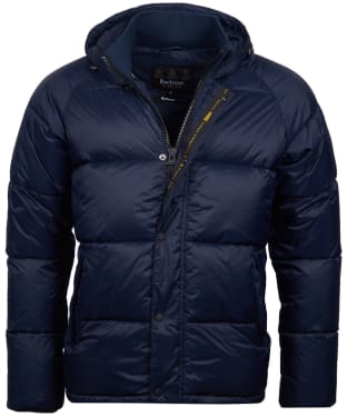 Men's Barbour International Busa Down Quilted Jacket - Navy