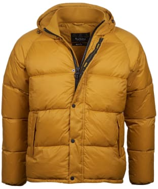 Men's Barbour International Busa Down Quilted Jacket - Yellow