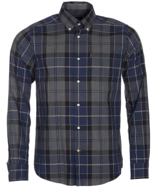 Men's Barbour Stapleton Oxford Tartan Shirt - Navy