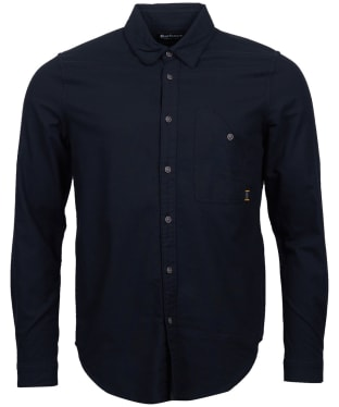 Men's Barbour International Cotter Shirt - Black