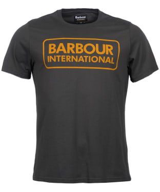 Men's Barbour International Essential Large Logo Tee - Sports Olive