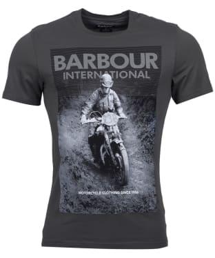 Men's Barbour International Trials Tee - Sports Olive