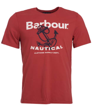 Men's Barbour Anchor Tee - Iron Ore