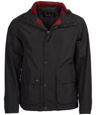 Men's Barbour Gunwale Waterproof Jacket - Ash Grey