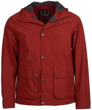 Men's Barbour Gunwale Waterproof Jacket - Iron Ore