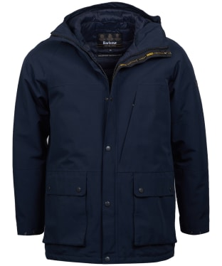 Men's Barbour International Ridge Waterproof Jacket - Navy