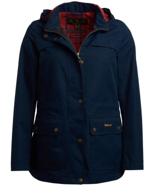 Women's Barbour Partner Exclusive Rona Waterproof Jacket - Navy