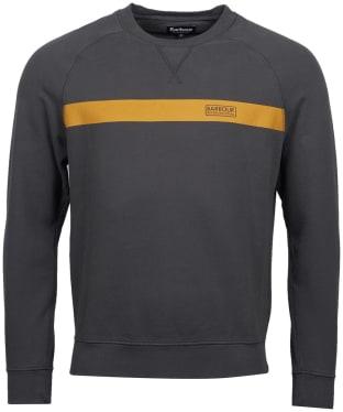 Men's Barbour International Keswick Sweatshirt - Sports Olive