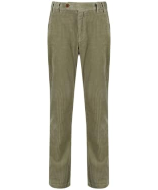 Men's Barbour Claremount Cord Trousers - Pea Green