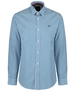 Men's Crew Clothing Classic Gingham Shirt - Dusk Blue