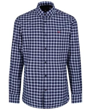 Men's Crew Clothing Bridford Shirt - Navy