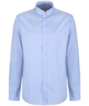 Men's GANT Regular Pinpoint Oxford Shirt - Yale Blue