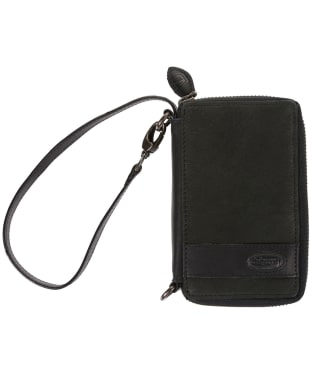 Women's Dubarry Emyvale Leather Purse and Phone Case - Black