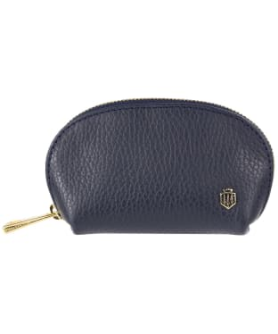 Women's Fairfax and Favor Chatham Coin Purse - Navy Blue Leather