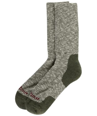 Men's Barbour Lakeside Boot Socks - Green