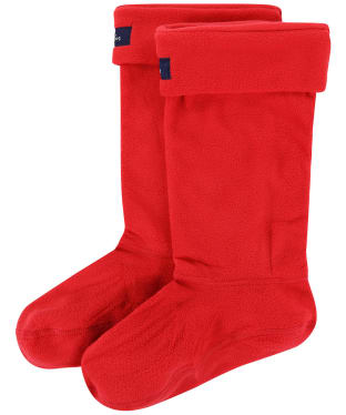 Women's Joules Welton Welly Socks - Red