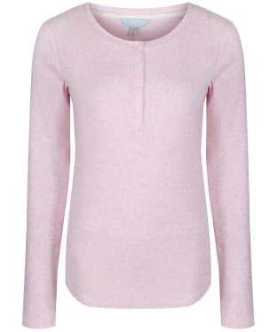 Women's Joules Dormi Jersey Pyjama Top - Pink Marl