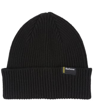 Men's Barbour International Beanie - Black