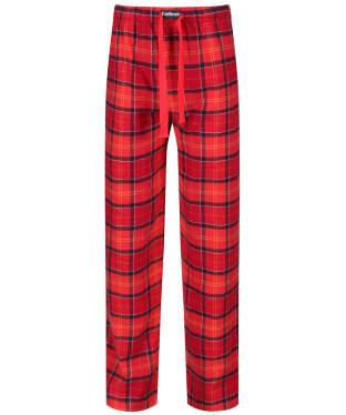 Men's Barbour Tartan Pyjama Bottoms - Cardinal Tartan