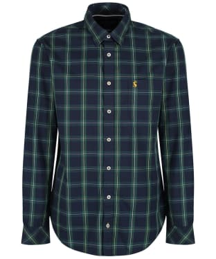 Men's Joules Wilby Classic Fit Check Shirt - Green Check