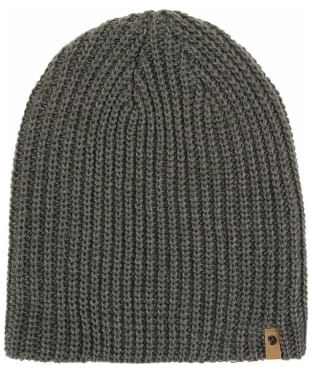 Men's Fjallraven Övik Melange Beanie Hat - Mountain Grey