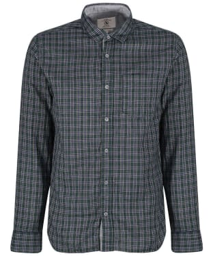 Men's Aigle Softon Preppy Shirt - Evergreen Check