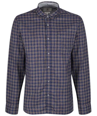 Men's Aigle Softon Preppy Shirt - Night Check