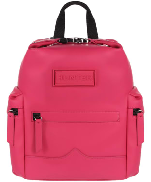 Hunter Original Mini Top Clip Backpack - Rubberised Leather
