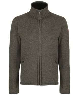 Men's Aigle Niven Fleece Cardigan - Khaki