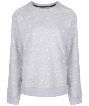 Women's Crew Clothing Spot Print Sweatshirt - Grey Dot