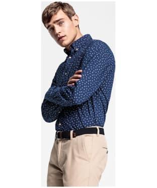 Men's GANT Yarn-Dyed Print Shirt