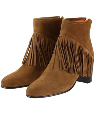 Women's Fairfax & Favor Pimlico Boots - Tan Suede