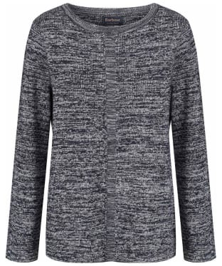 Women's Barbour Carron Knitted Sweater - Navy