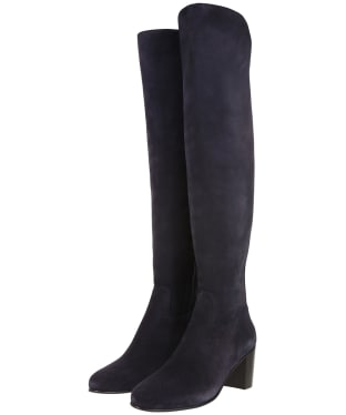 Women's Fairfax & Favor Amira Heeled Boots - Navy Blue
