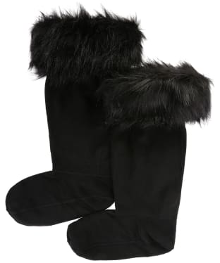 Hunter Original Faux Fur Cuff Boot Socks