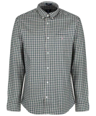 Men's GANT Oxford Check Shirt - Putty