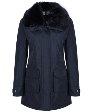 Women's Barbour Carron Waterproof Jacket - Navy