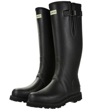 Men's Hunter Field Balmoral Neo Adjustable Wellington Boots - Black