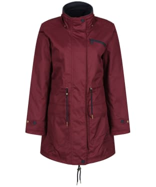 Women's Jack Murphy Vanessa Waterproof Jacket - Winter Burgundy
