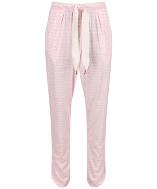 Women's Joules Josephine Pyjama Bottoms - Pink / Cream Stripe