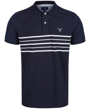 Men's GANT Striped Rugger Polo Shirt